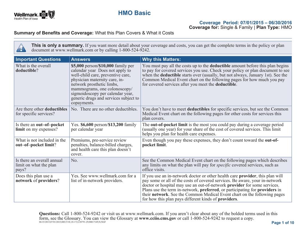 Hmo Basic