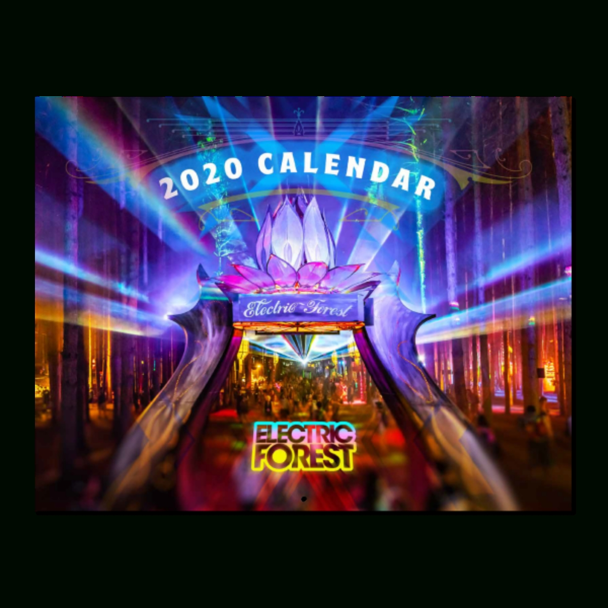 Holiday Capsule 2020 Calendar | Shop The Electric Forest