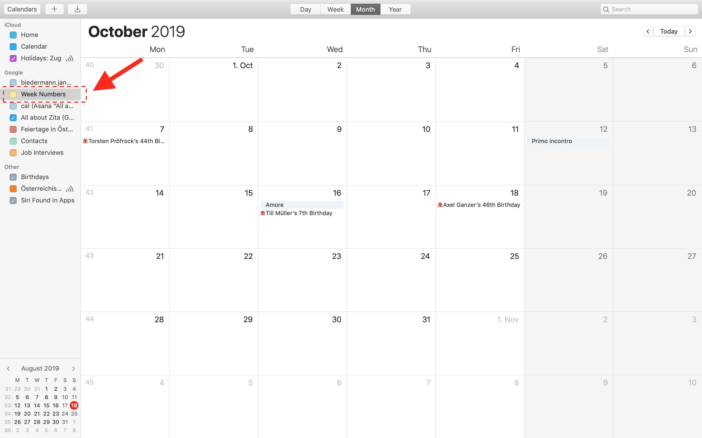 How Can I Remove/delete A Shared Calendar That Is Not