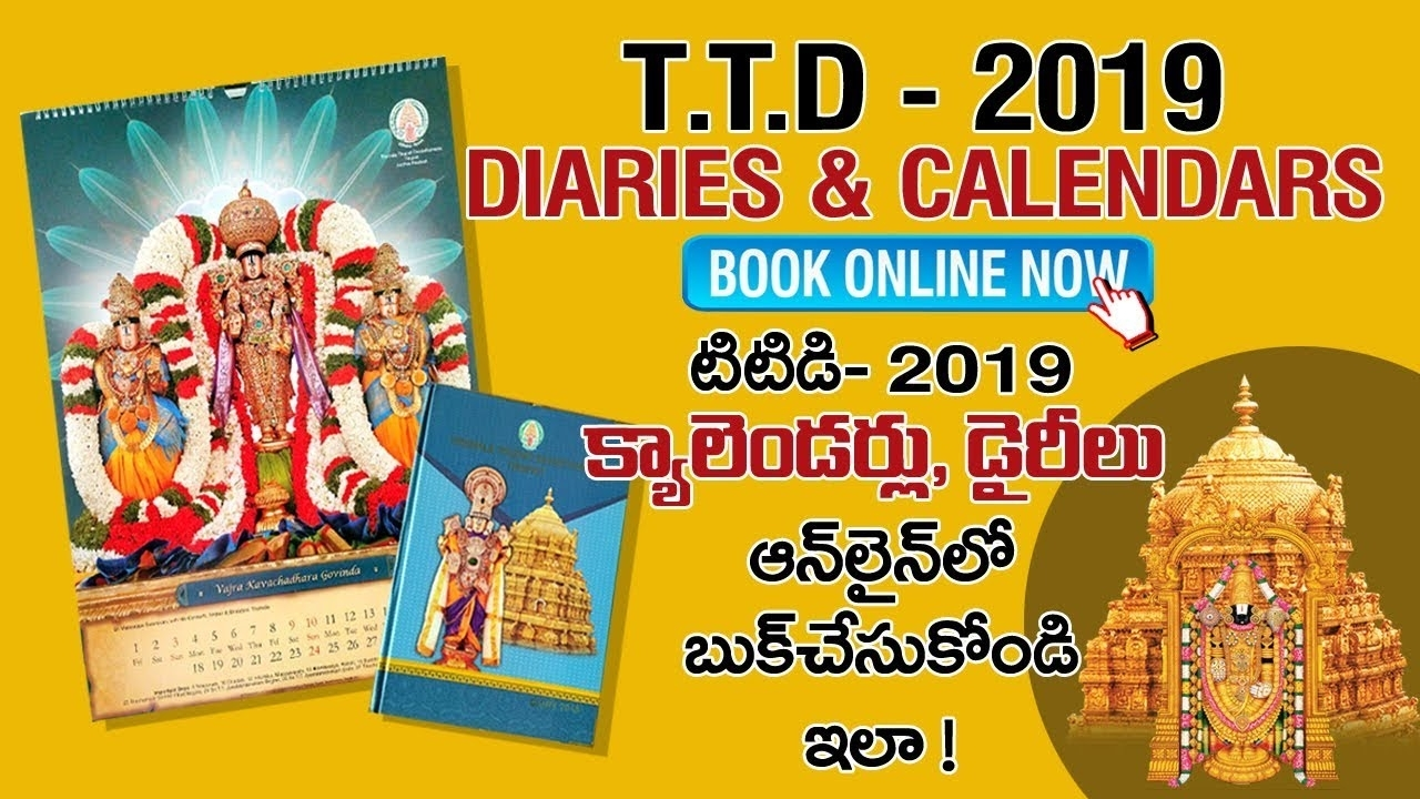How To Buy Ttd Calendars 2019 - Online Shopping ?