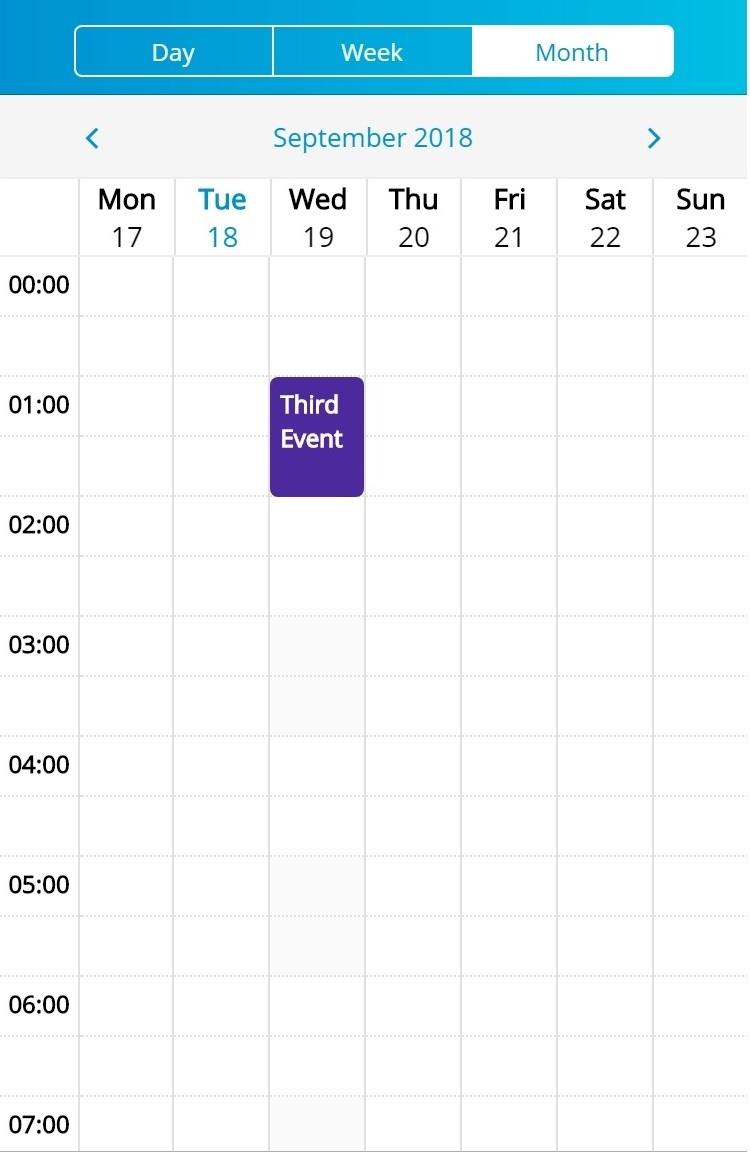 How To Create A Swipeable Week-Hours View Calendar In Ionic