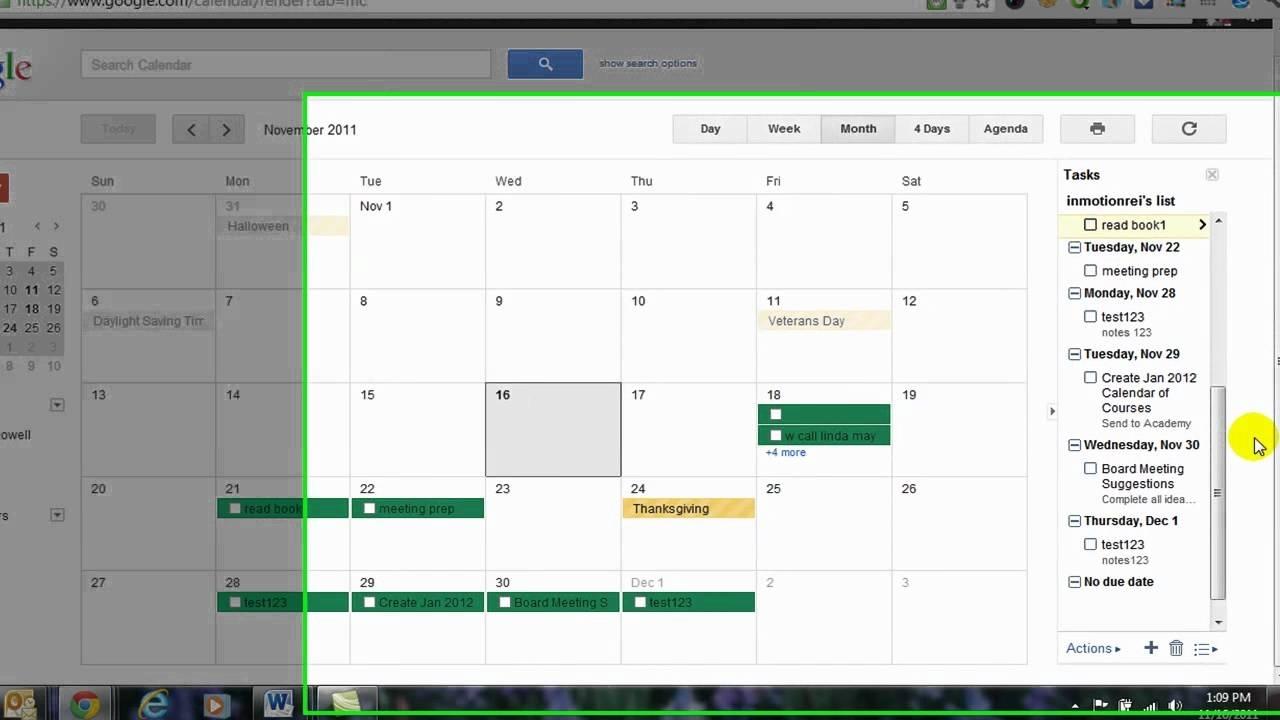 How To Create A To-Do List Using Google Calendar