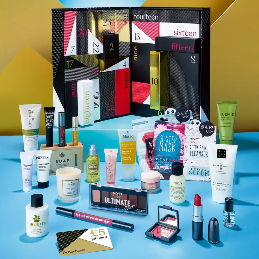 How To Get Debenhams Beauty Advent Calendar Worth £190 For