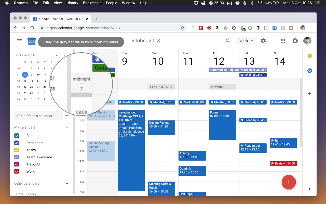 How To Limit Visible Hours In New Google Calendar - Web