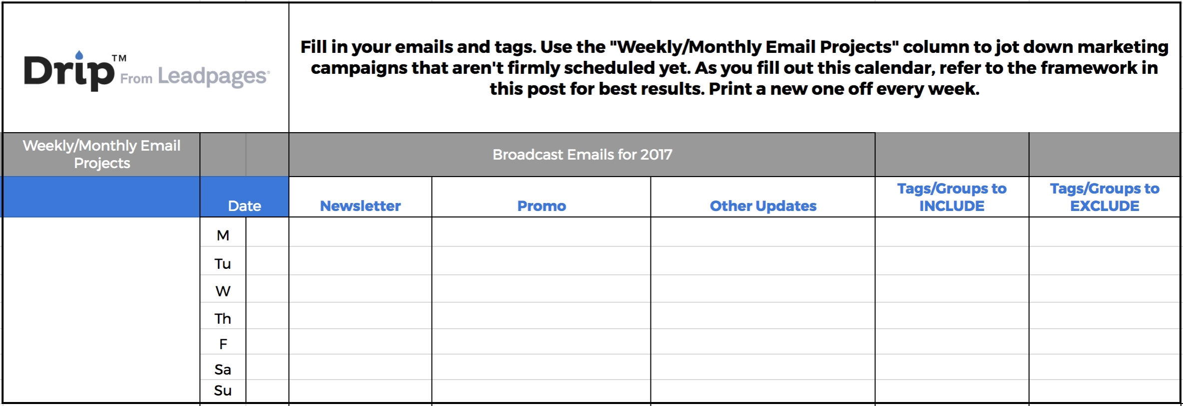 How To Make (And Simplify) Your Email Marketing Calendar