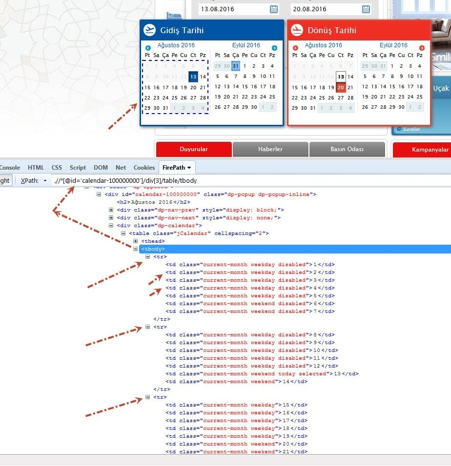 How To Select A Date From Datepicker Using Selenium