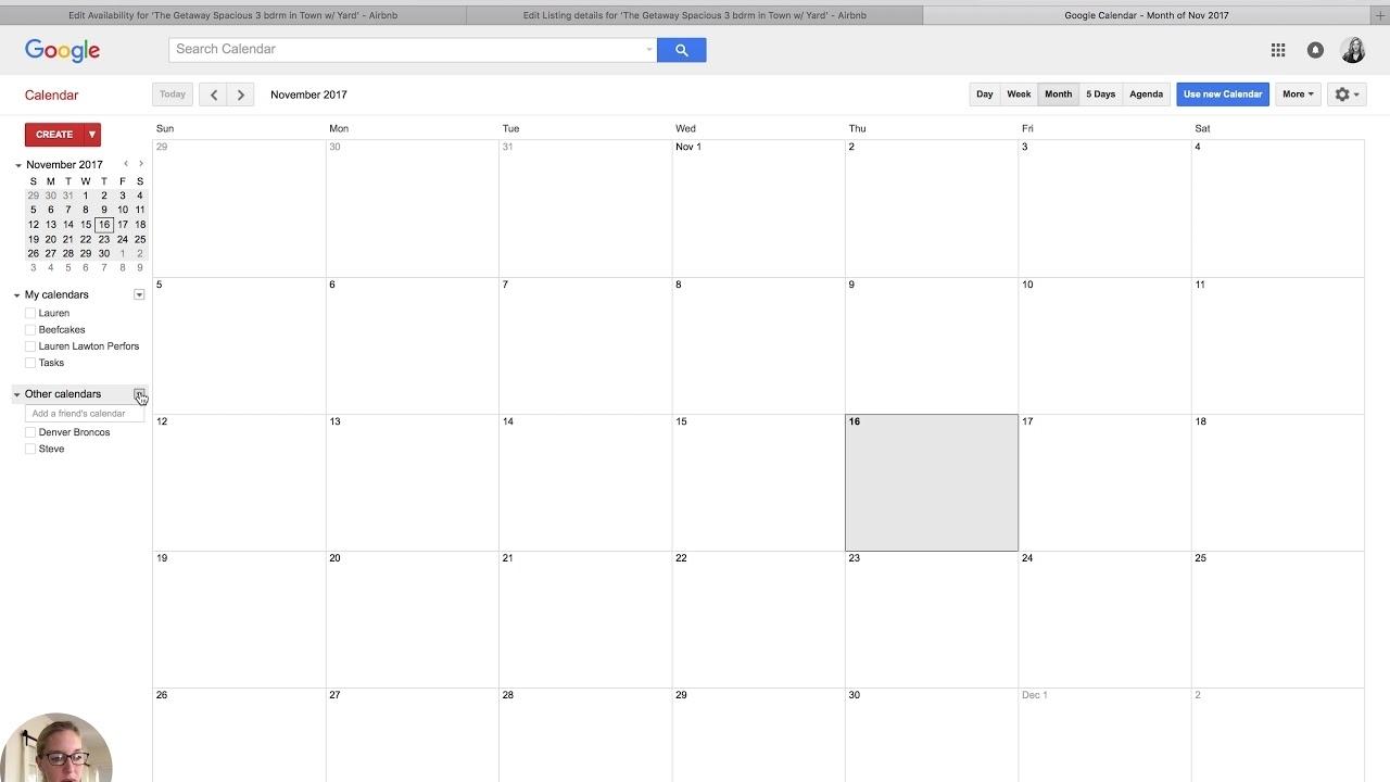 How To Sync Airbnb Calendar To Your Google Calendar