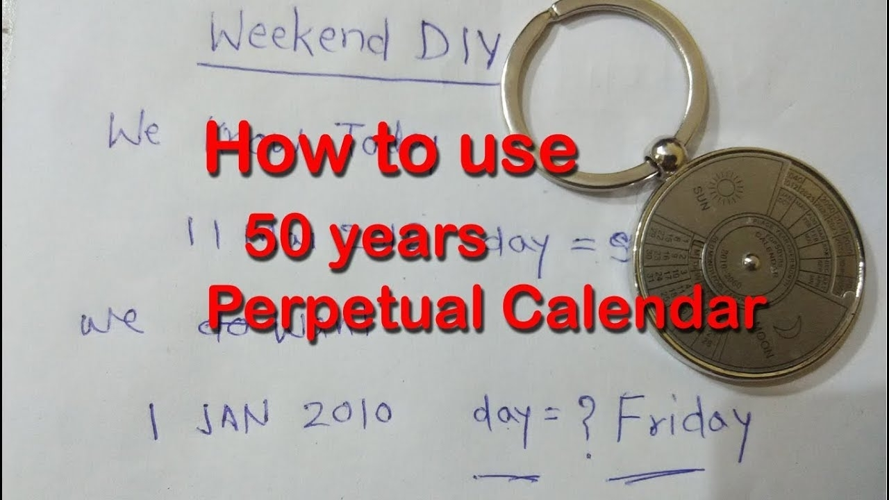 How To Use 50 Years Calendar | How Use Perpetual Calendar | Aliexpress  100/50 Years Calendar