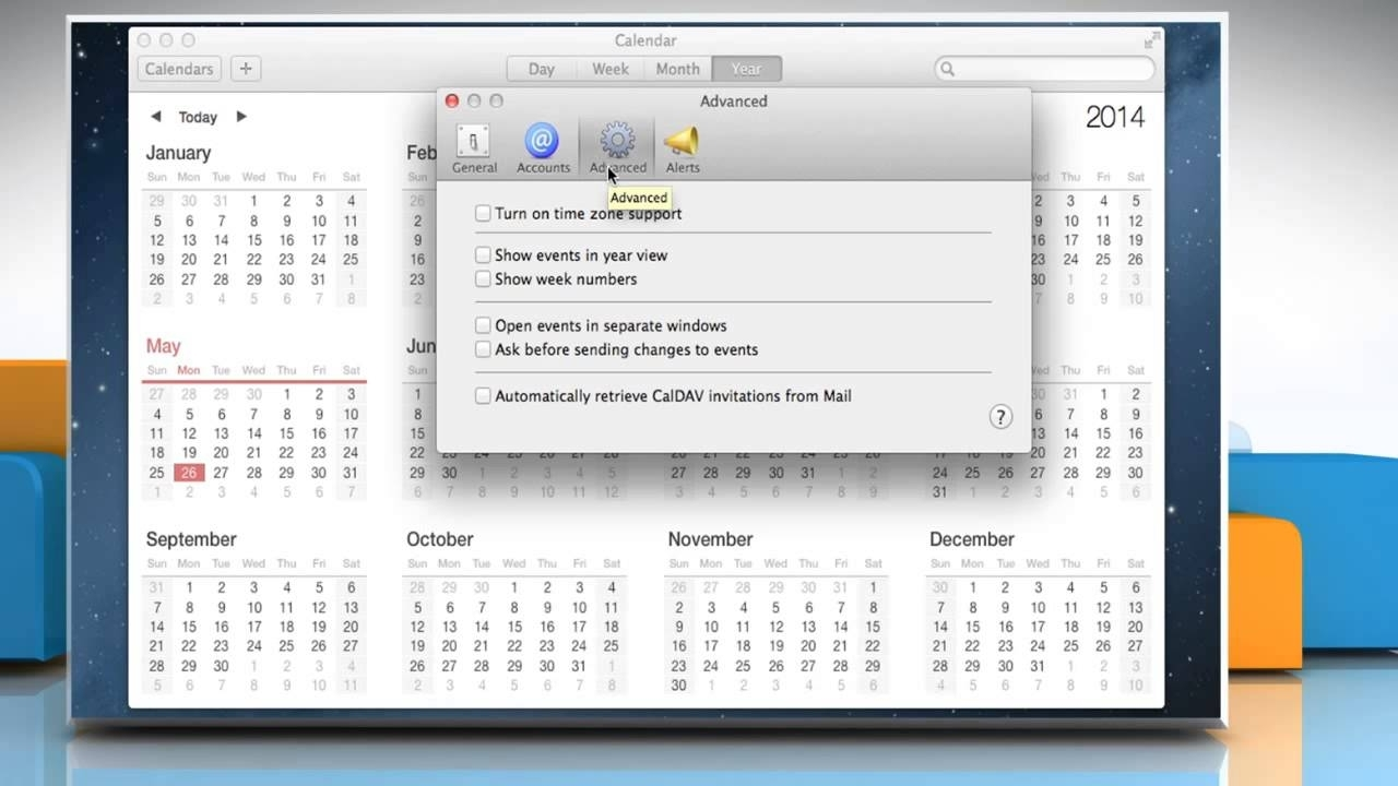How To Use Week Calendar In Mac® Os X™