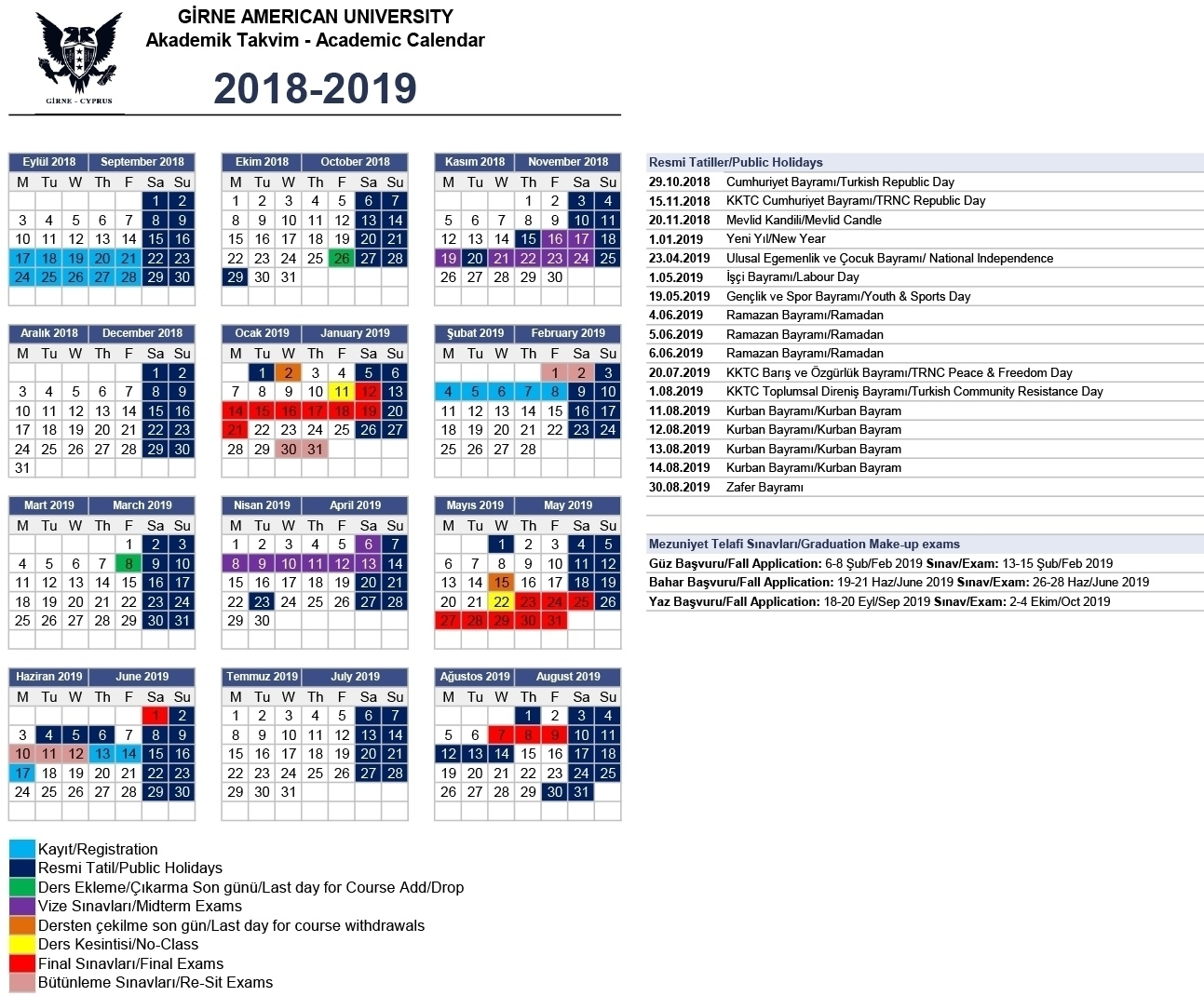 Impressive School Calendar For 2019 Namibia • Printable