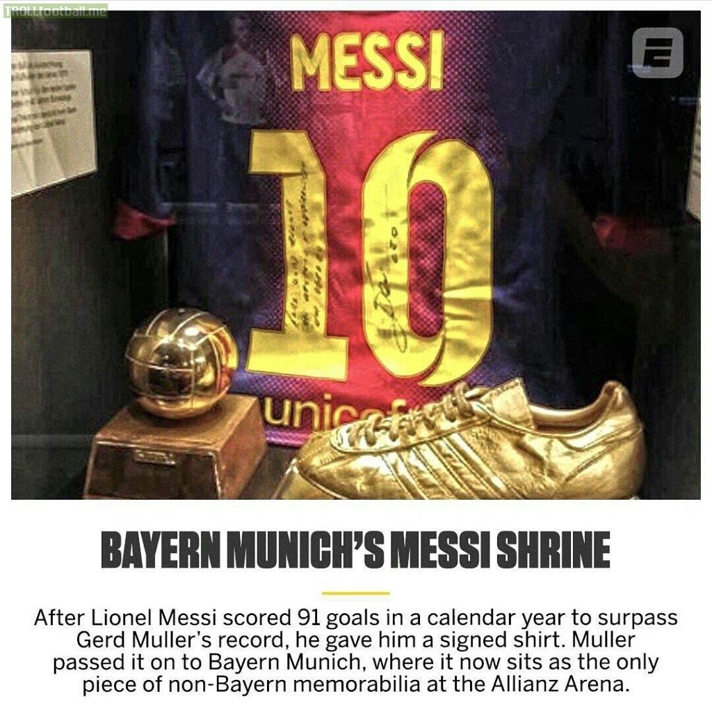In 2012, When Messi Broke Gerd Muller's Record Of Most Goals