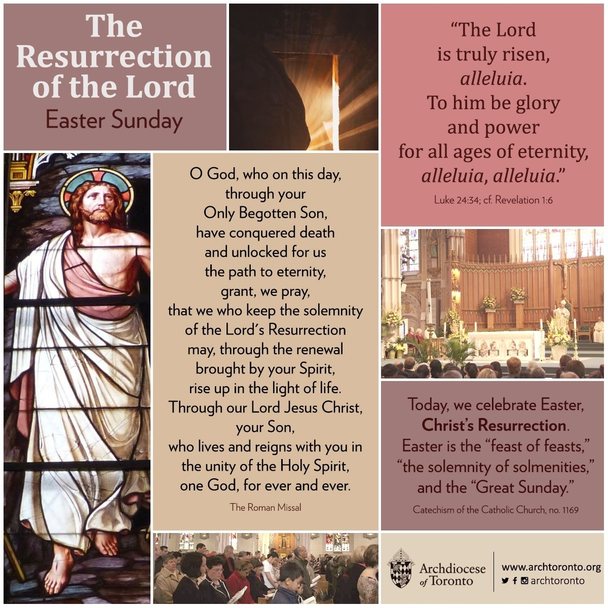 Infographic: Easter Sunday | Holy Week/easter For Youth For