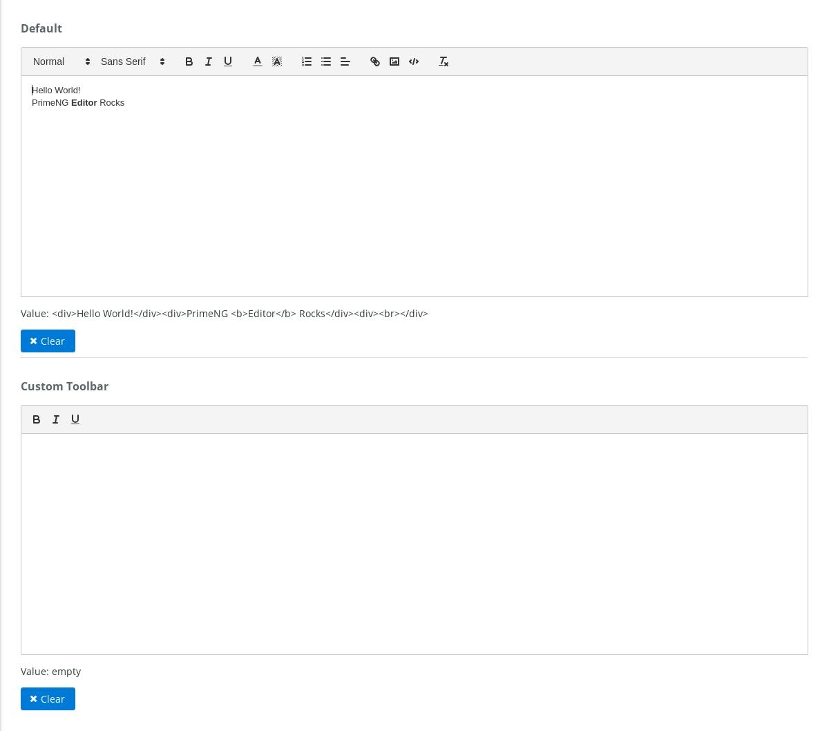 Input - Editor - 《Primeng Document》 - 书栈网 · Bookstack