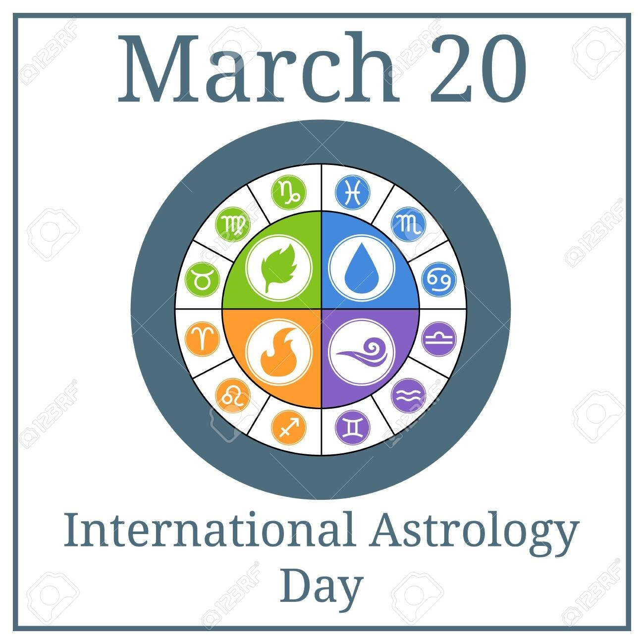 International Astrology Day. March 20. March Holiday Calendar