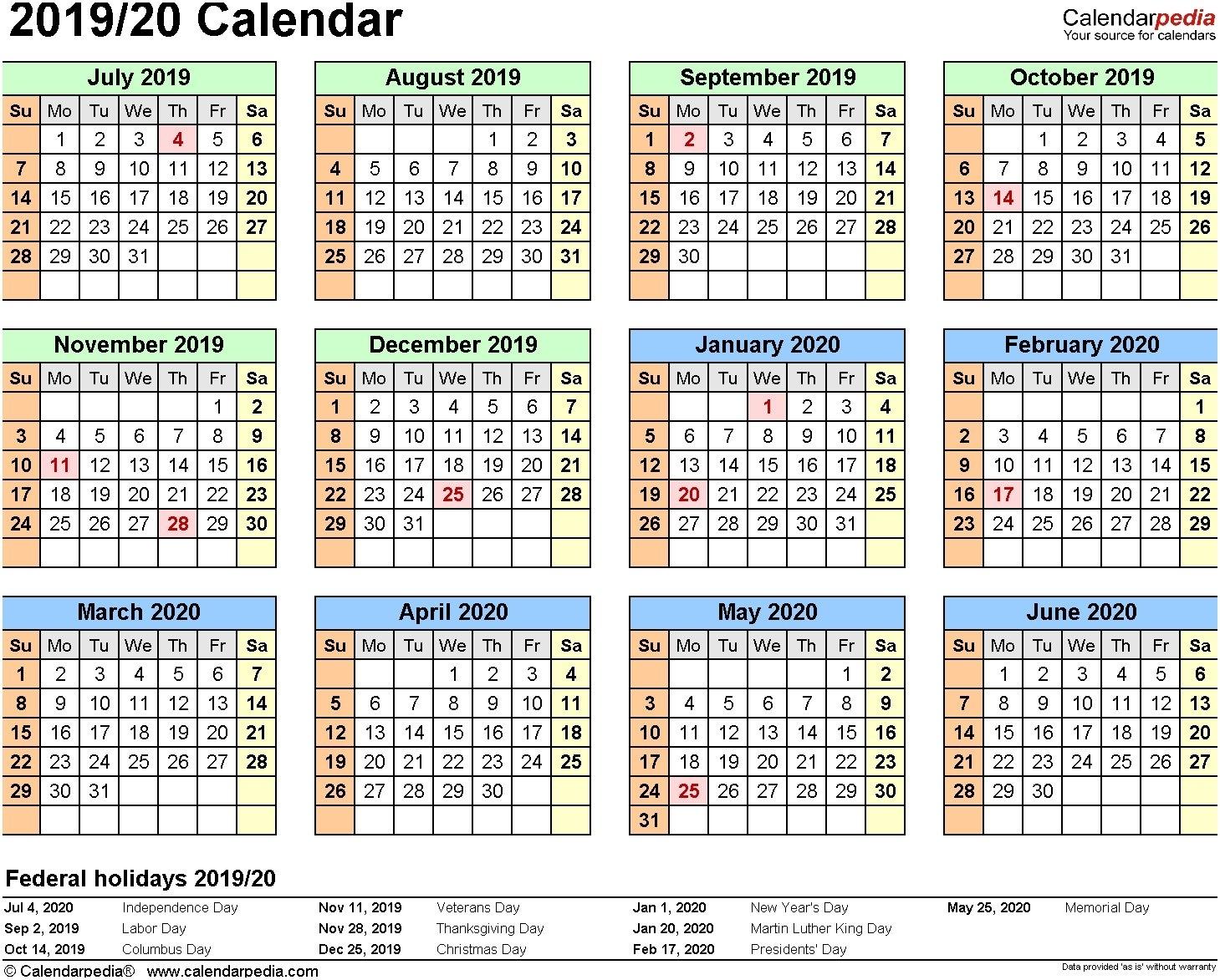 Iu Spring 2019 Calendar To Download Or Print