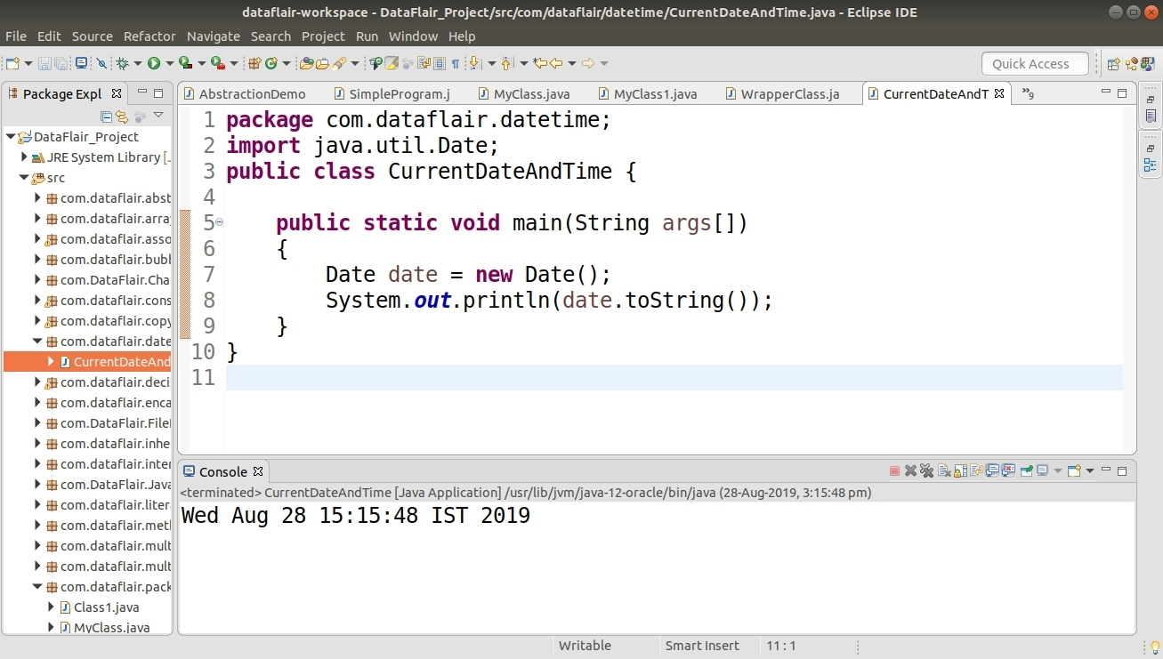 Java Date And Time - Gregoriancalendar Class With Example