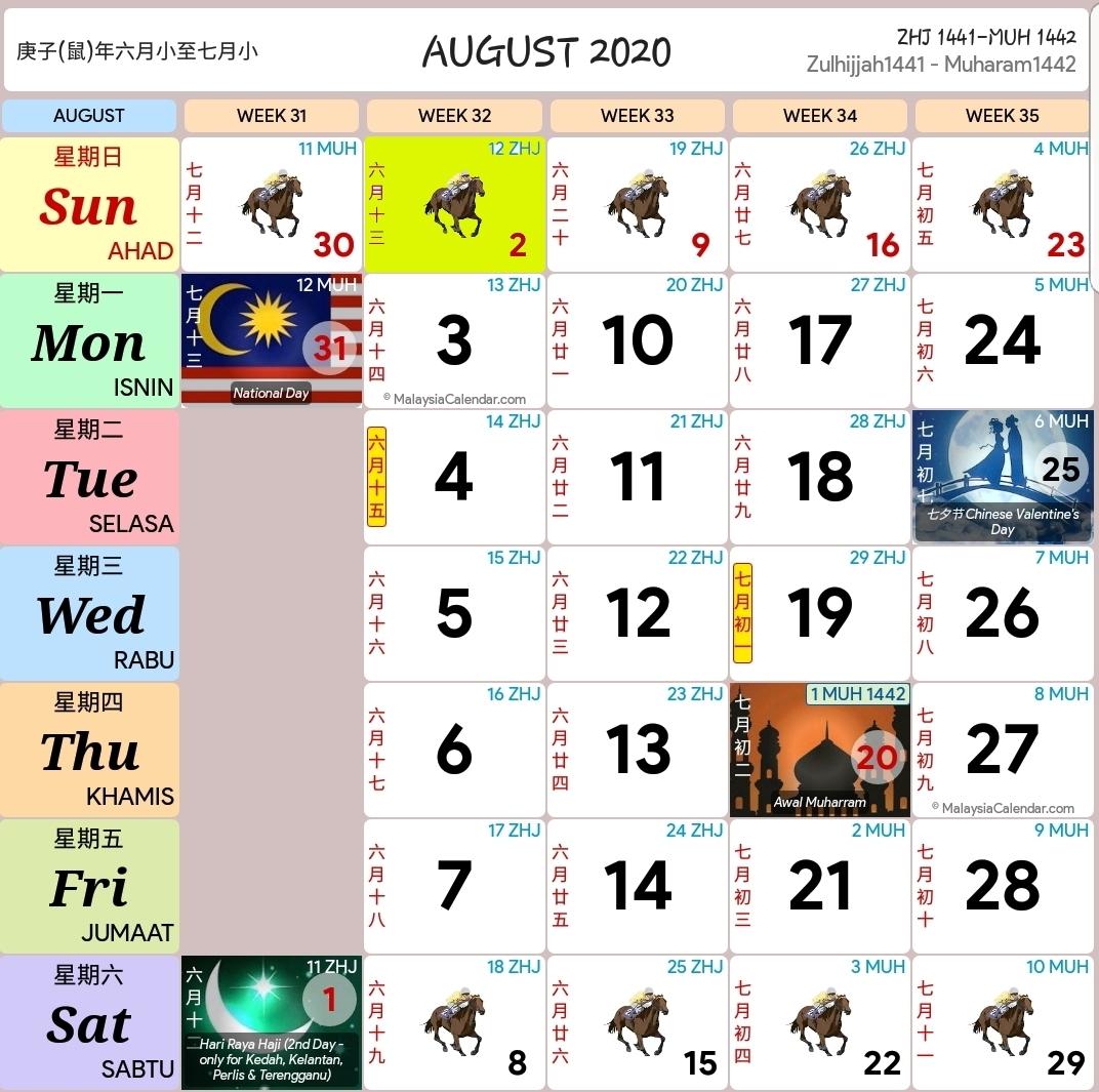 Kalendar 2020 - Cerno.mioduchowski