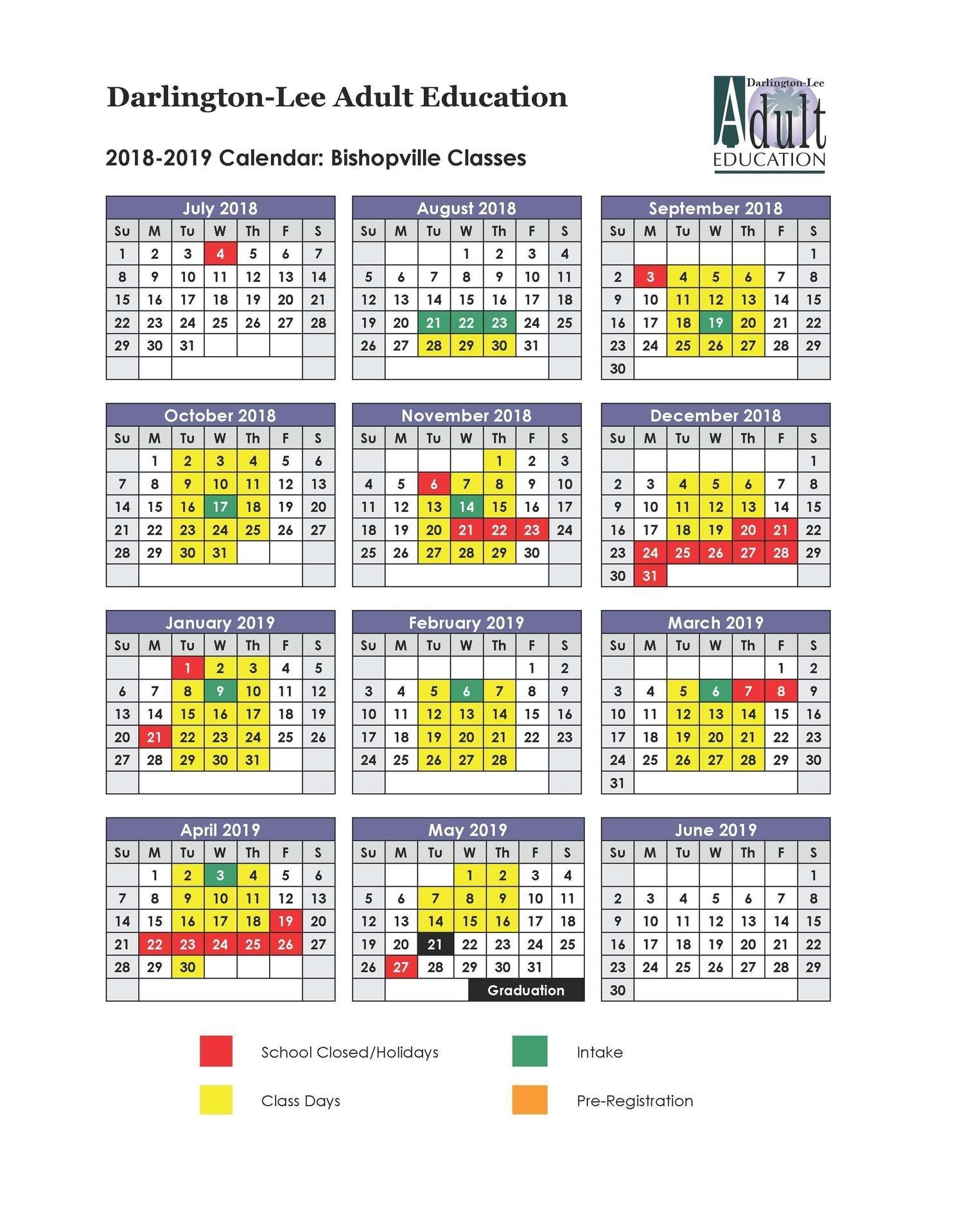 Lcsd 2020 Calendar | Free Printable Calendar
