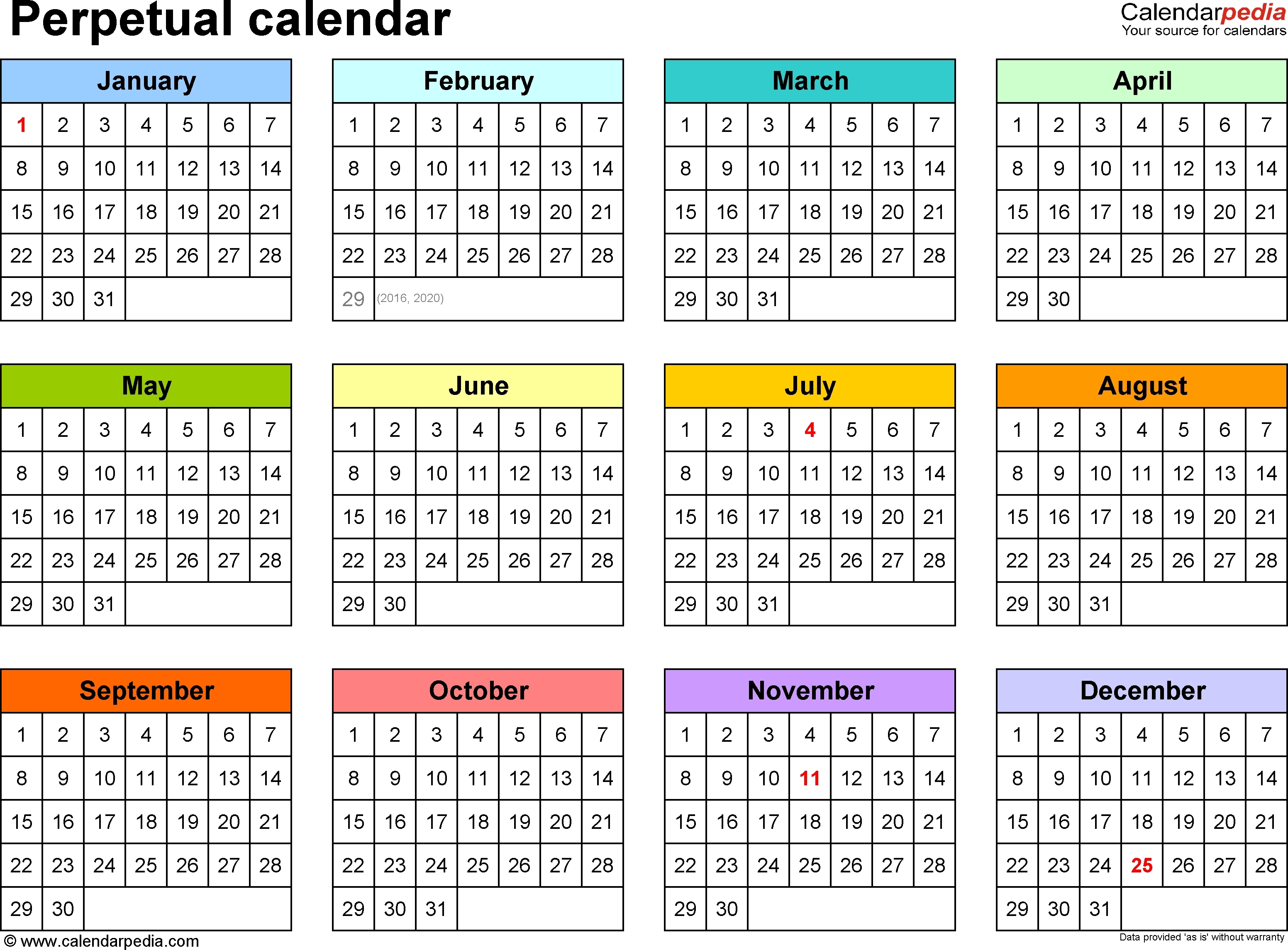 Legal Size Calendar With Holidays 2016 Printable Calendar