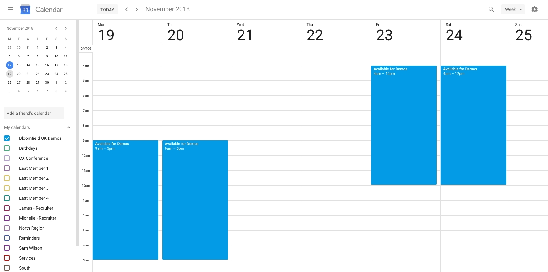 Lovely Week Calendar Time Zone : Mini Calendar Template