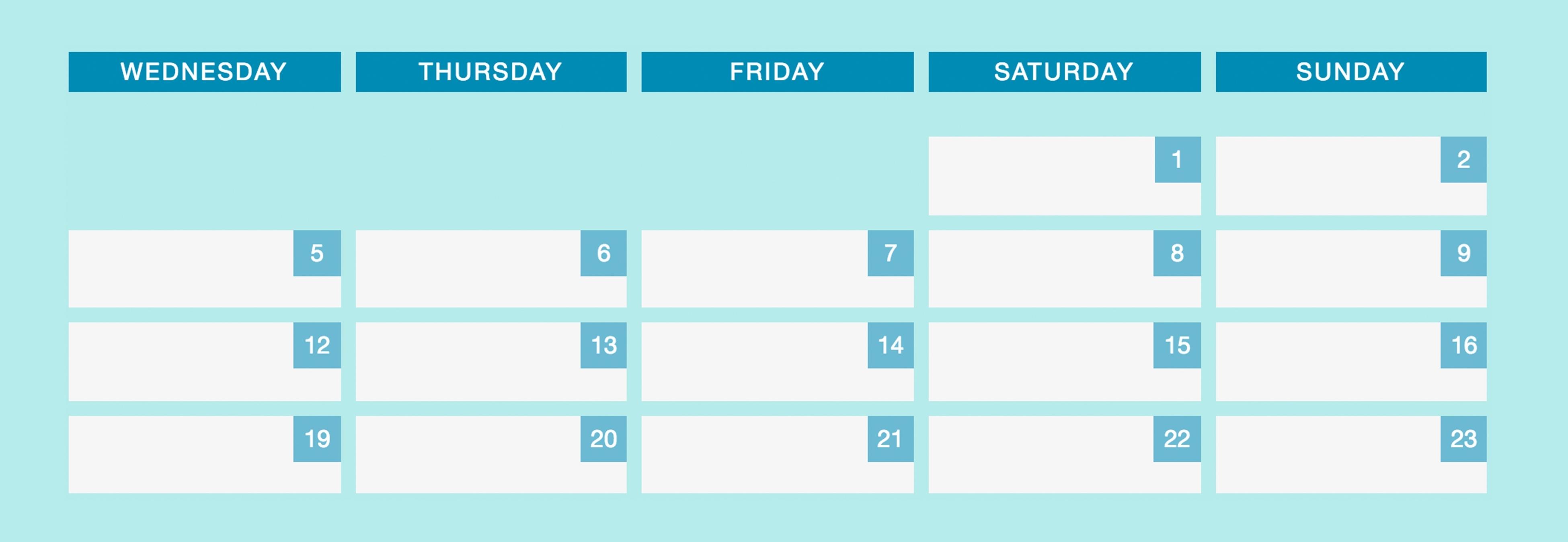 Making A Responsive Calendar For Dynamic Dates Using Flexbox