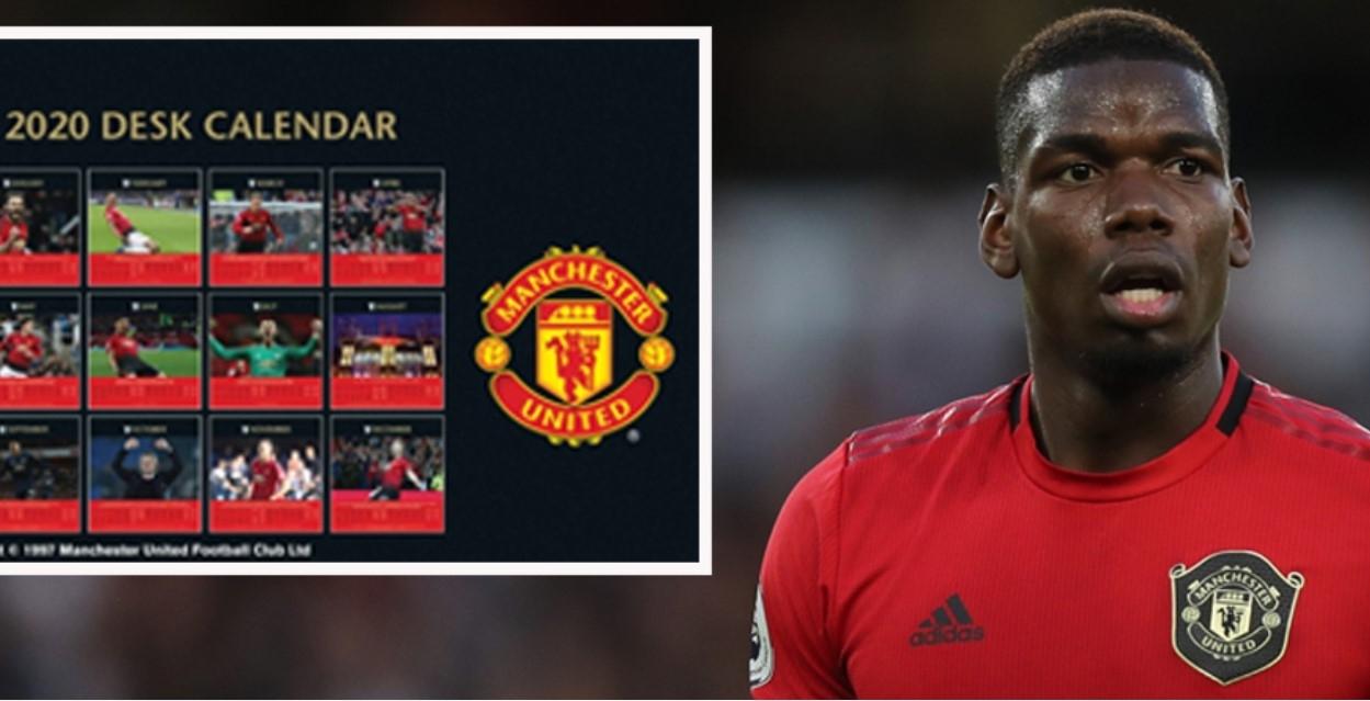 Manchester United Desktop Calendar