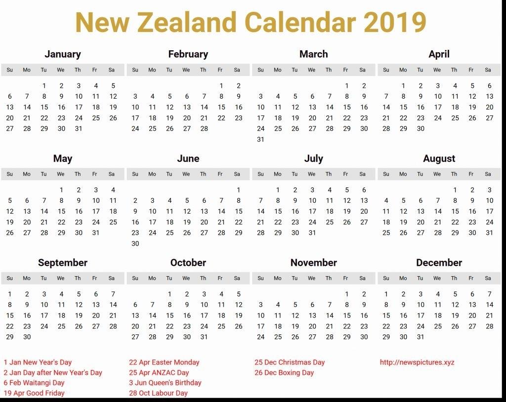 March 2019 Calendar Nz | Holiday Calendar, 2019 Calendar
