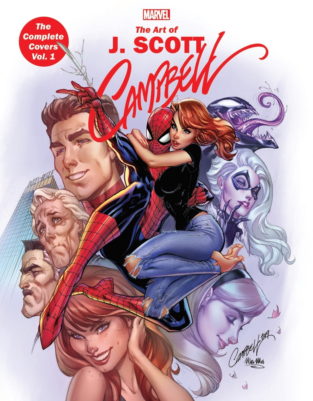 Marvel Monograph: The Art Of J. Scott Campbell - The