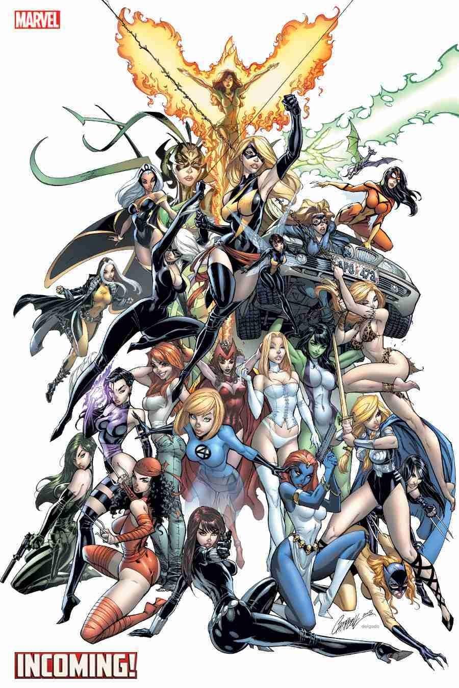 Marvel Unveils J. Scott Campbell Incoming Variant