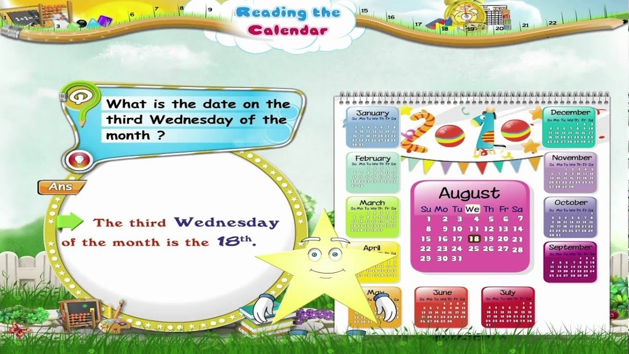 Measurement: Calendars - Lessons - Tes Teach