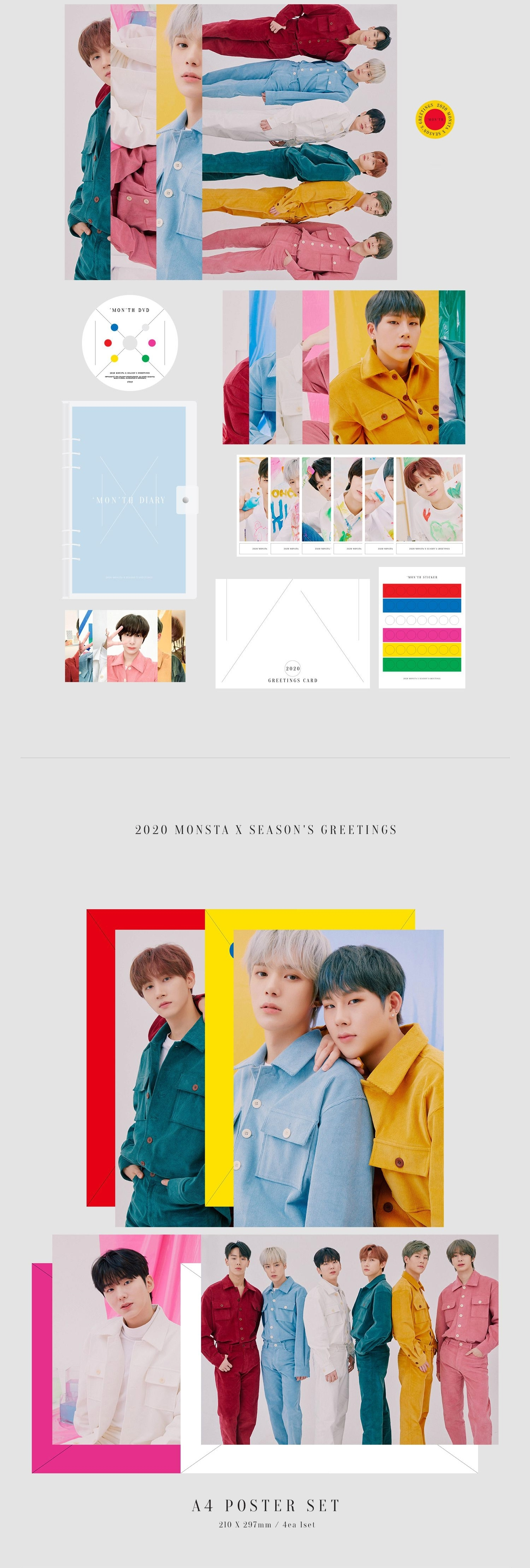 Monsta X 2020 Season's Greetings
