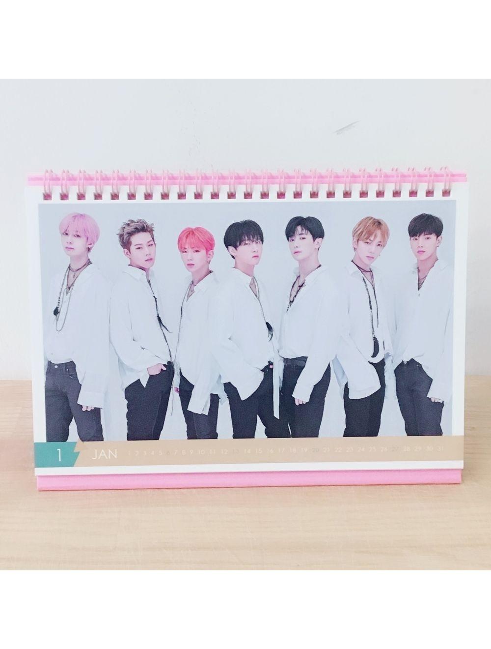 Monsta X - Desk Calendar 2019-2020