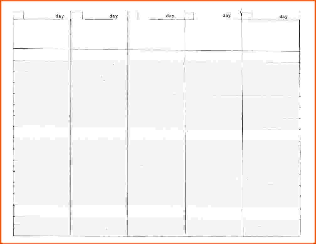 Monthly Calendar To Print Image For 5 Week Calendar Template