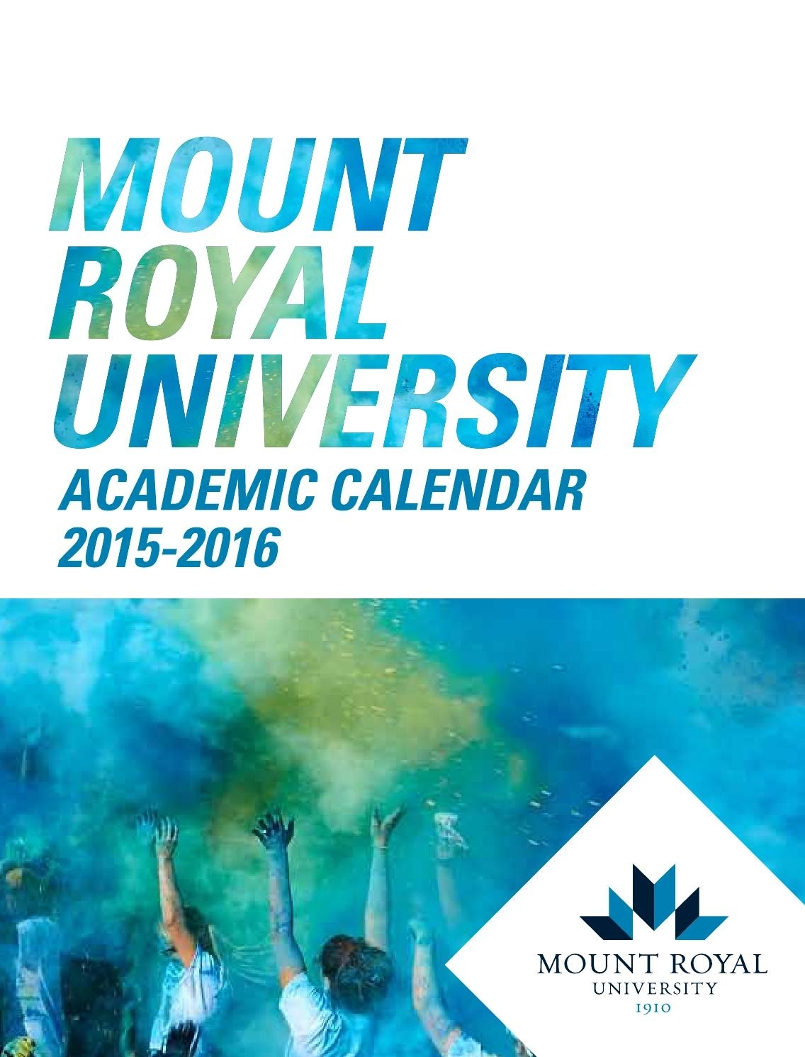 Mount Royal 2015-16 Academic Calendarmount Royal