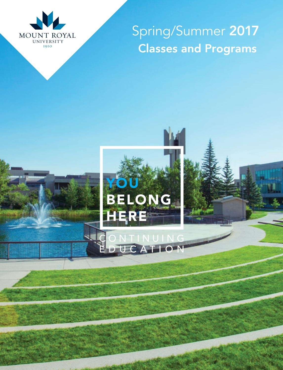 Mount Royal University Continuing Education Spring/summer