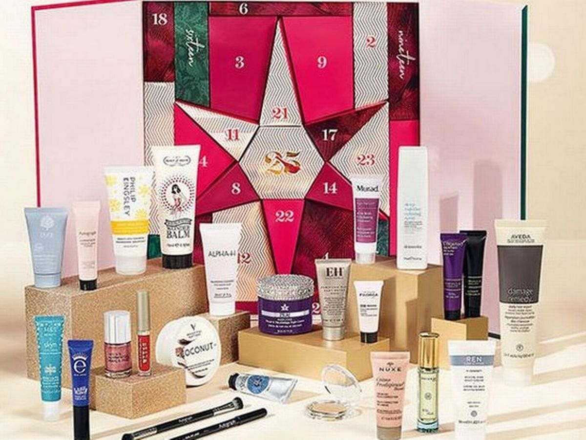 M&s Beauty Advent Calendar Worth £300 Goes On Sale Today And