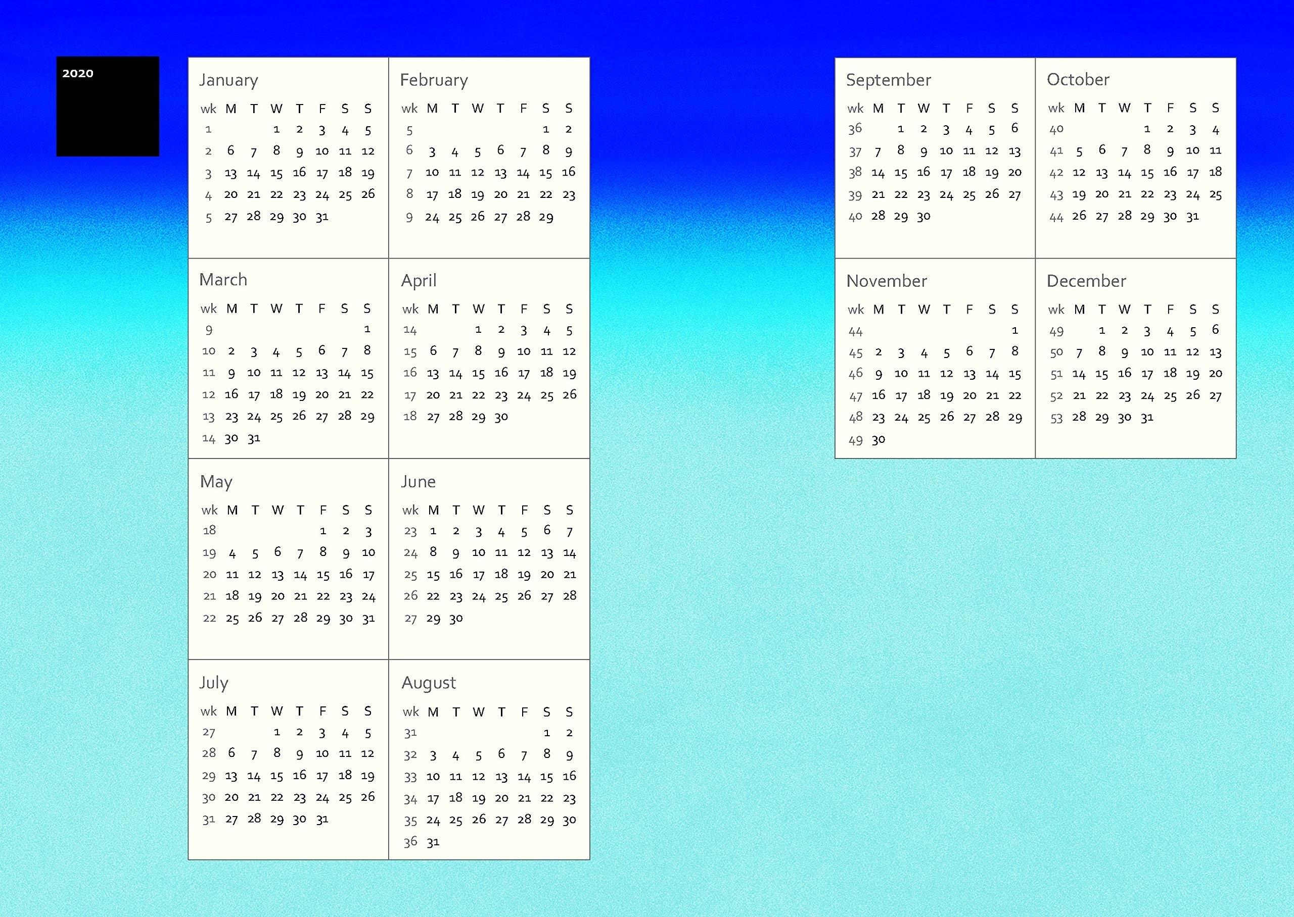 Murakami 2020 Diary | Papercut