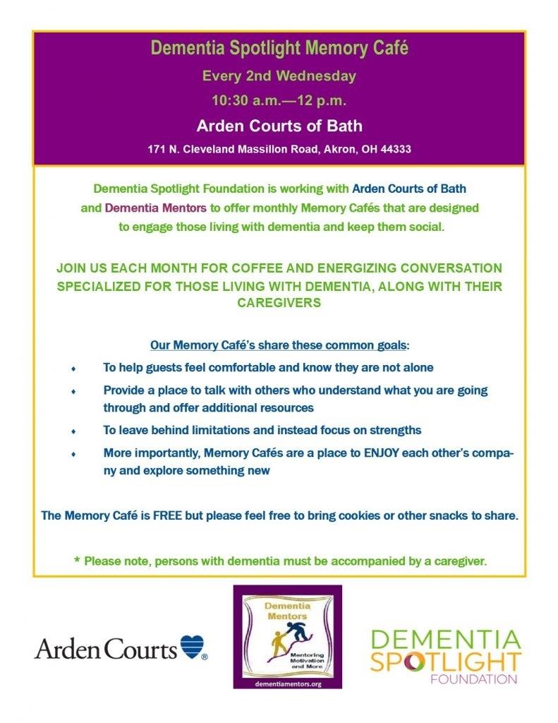 My Calendar - Dementia Spotlight Foundation