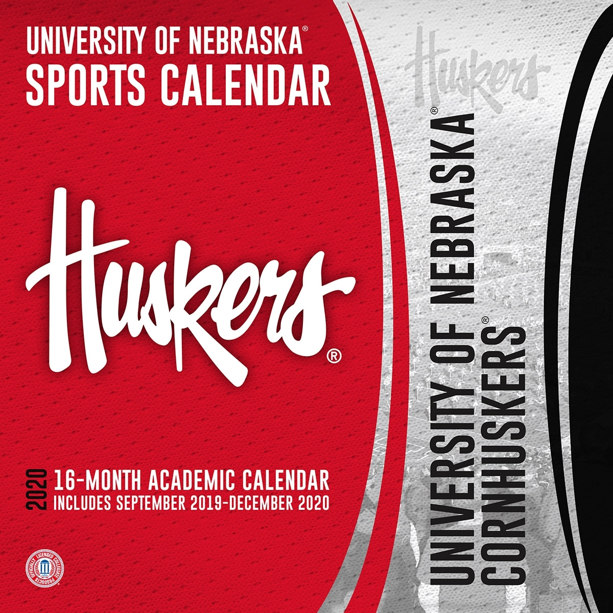 Nebraska Cornhuskers 2020 Wall Calendar - Buy At Khc Sports
