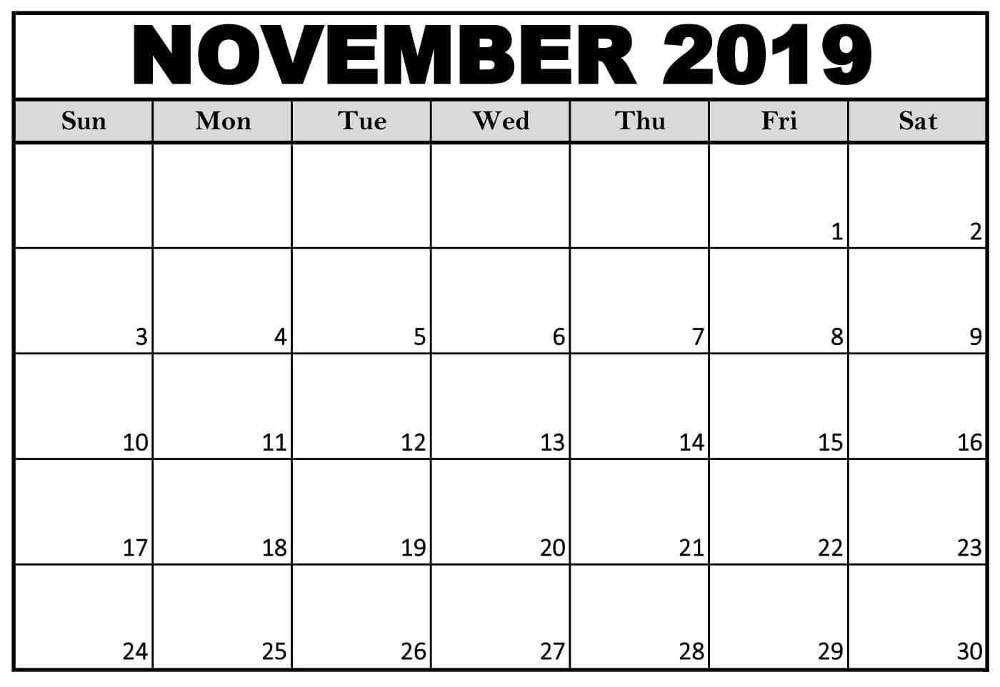 November 2019 Calendar Nz (New Zealand) Holidays | Free