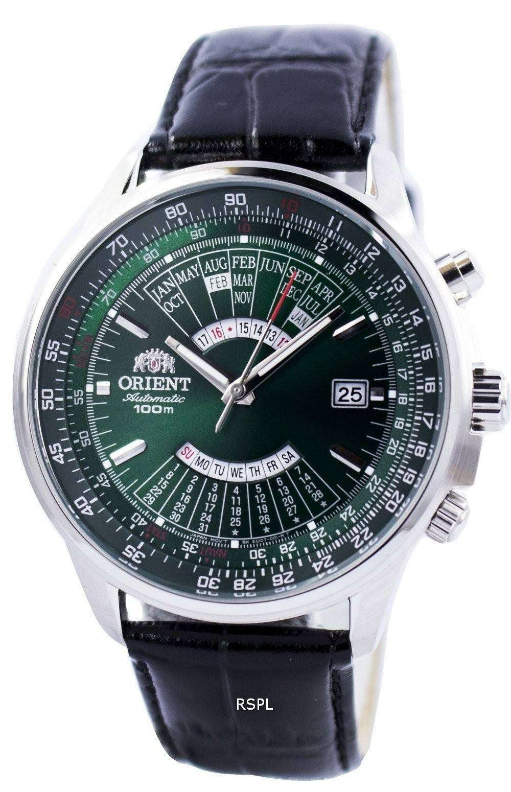 Orient Automatic Multi Year Calendar 100M Feu0700Cfh Mens Watch