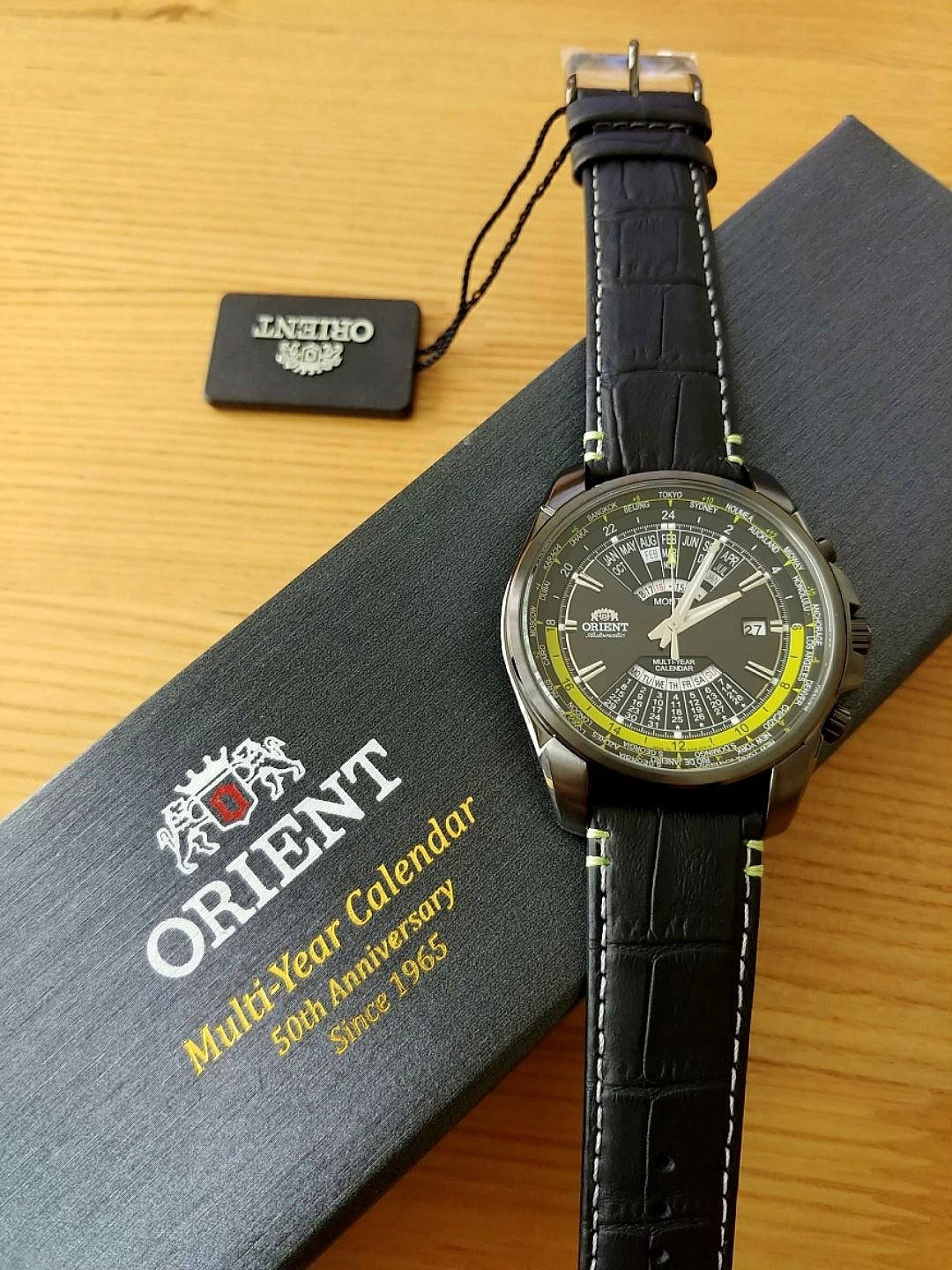 Orient Multi Year Calendar 50Th Anniversary Limited Edition