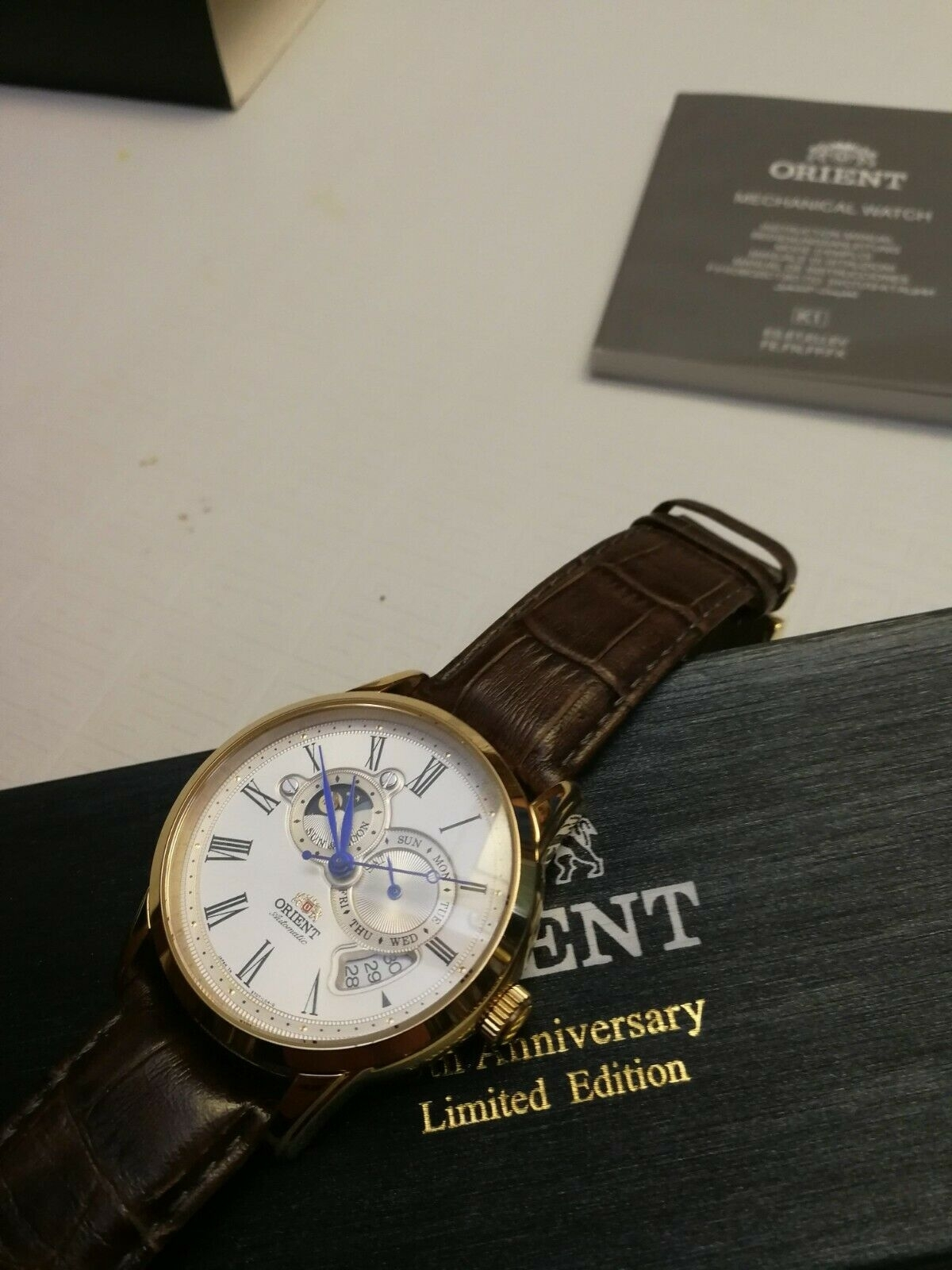 Orient Sun & Moon 65Th Anniversary Limited Edition Men's Automatic Wrist  Watch