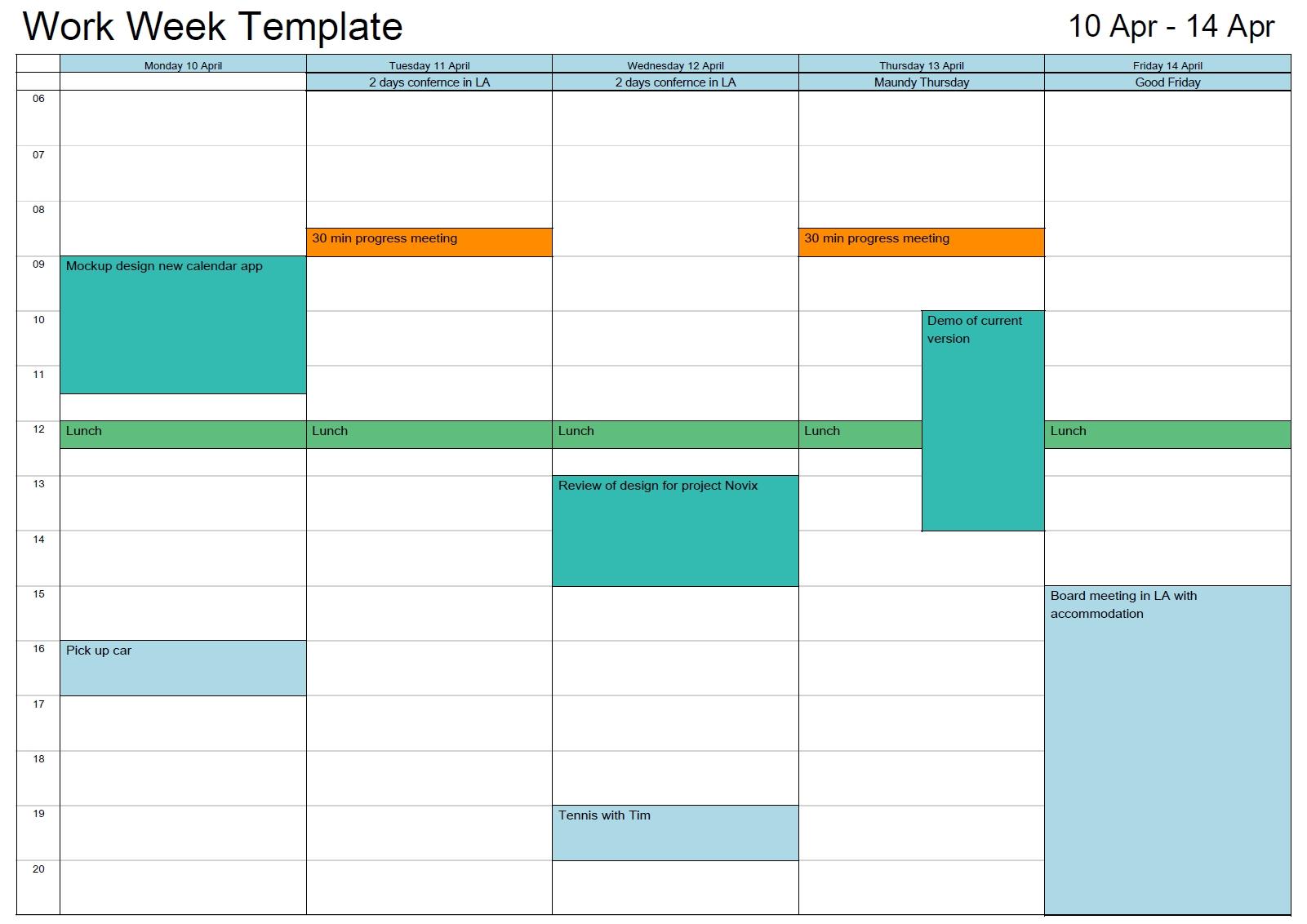 Outlook Calendar Print