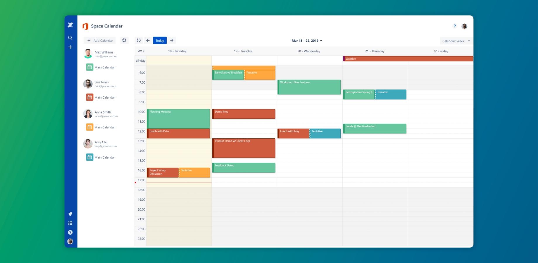 Outlook Calendars For Confluence | Atlassian Marketplace