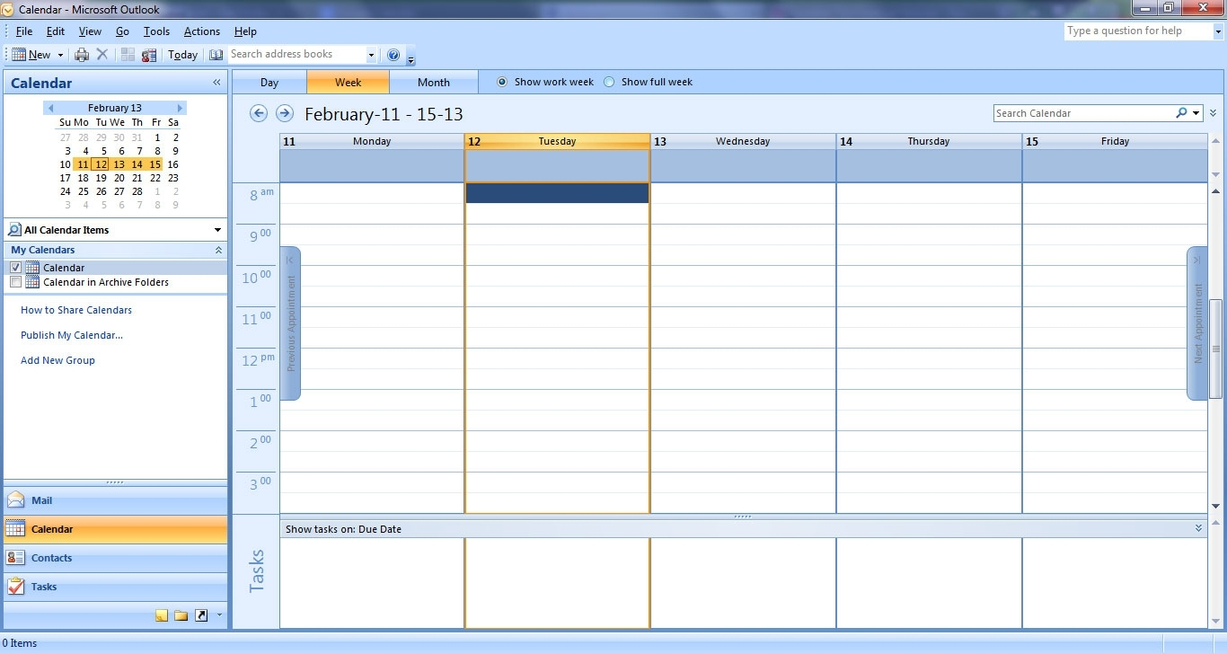 Outlook - Keeping Track With Your Calendar - Software