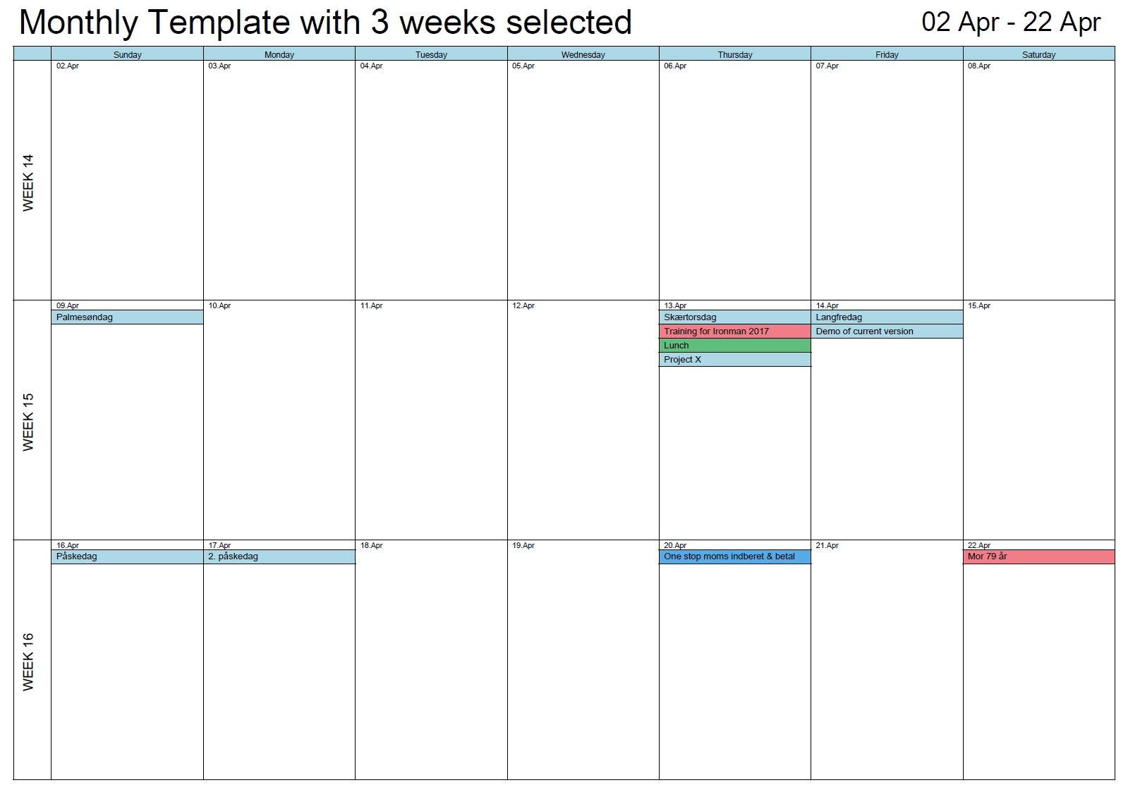 Outlook Printable Calendar In A4/a3 | Outlook Calendar Print