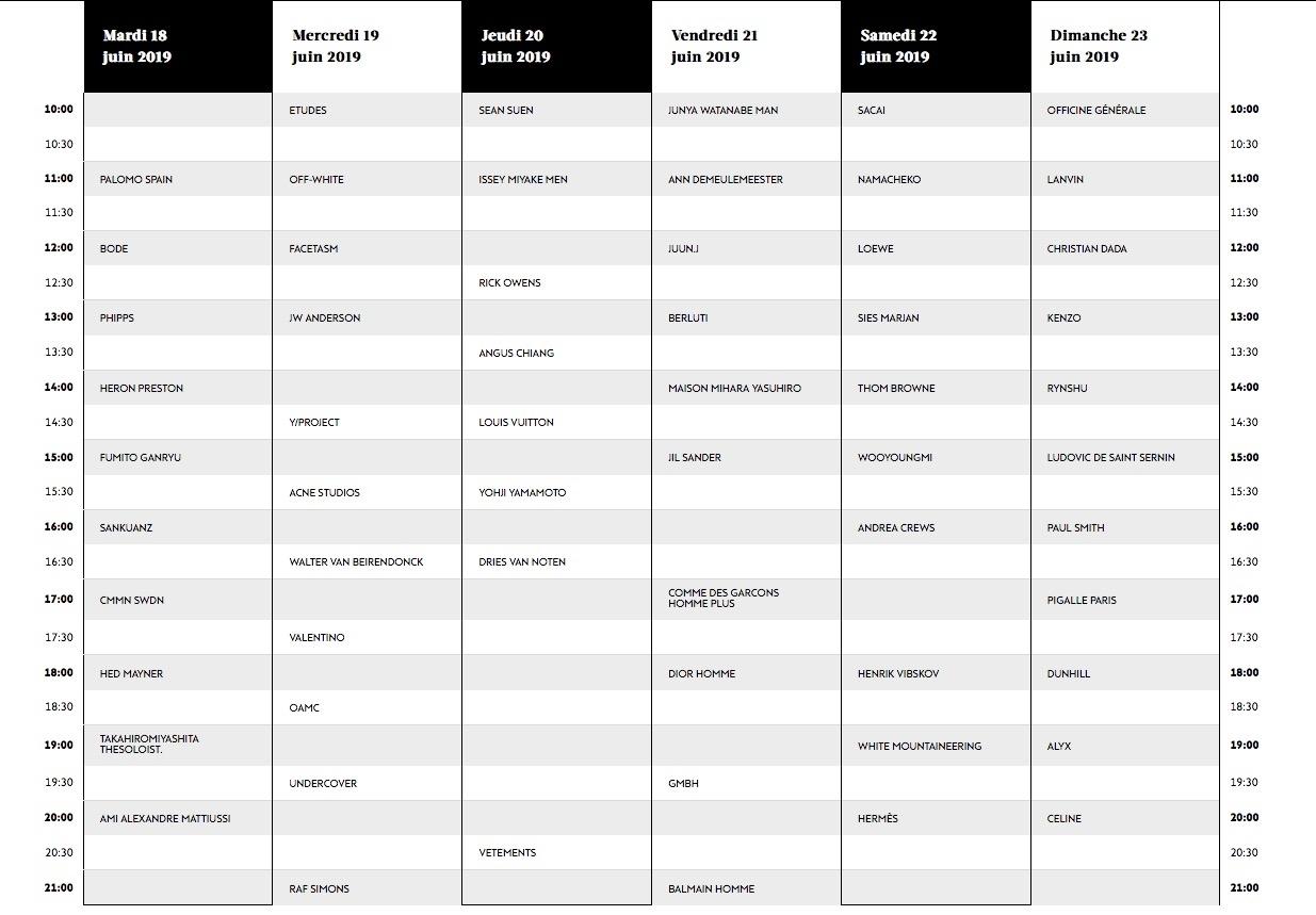 Paris Fashion Week Calendar 2020-2021 Dates, Schedule - Dn