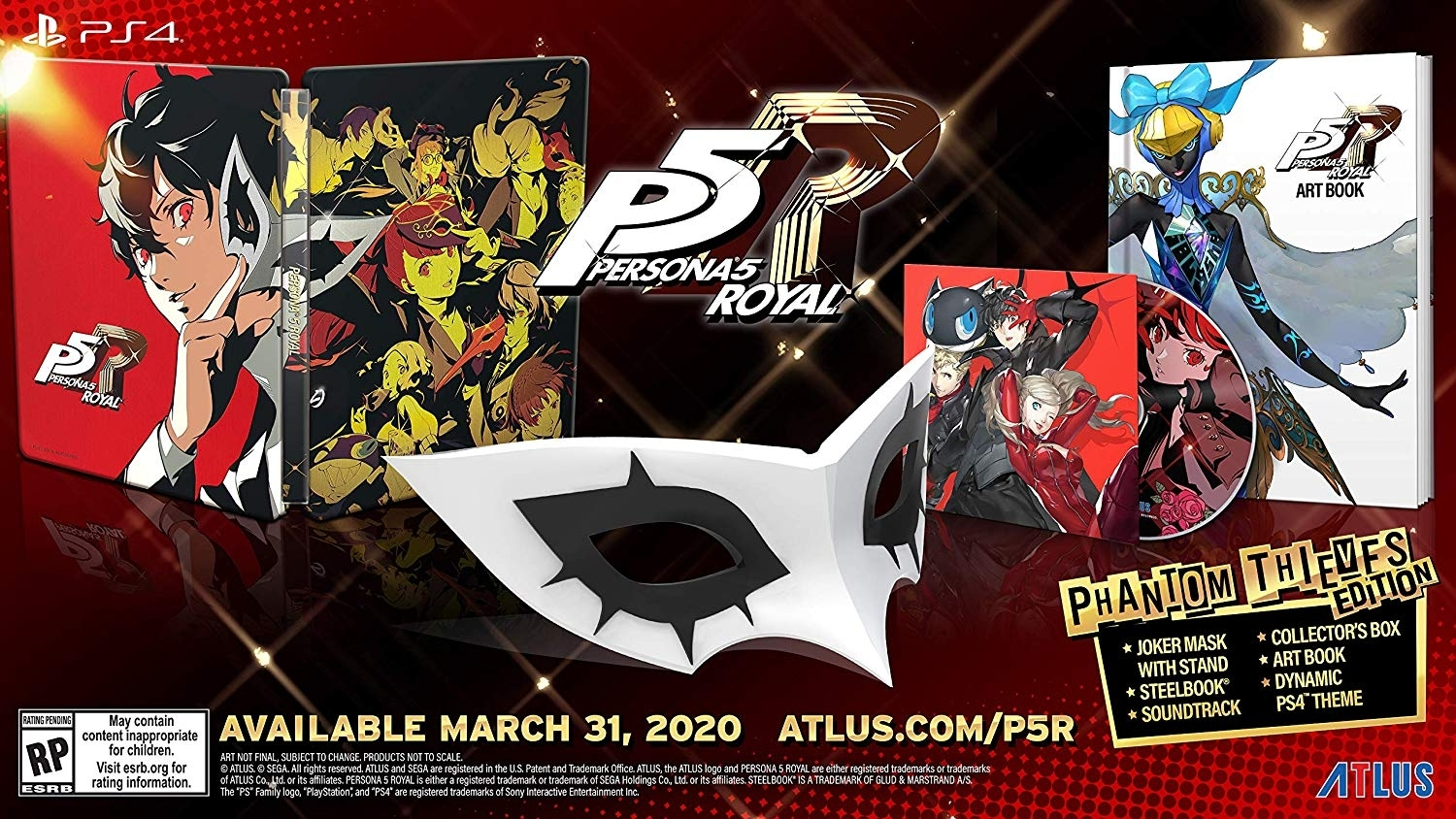 Persona 5 Royal Release Date Confirmed For March 31, 2020 In