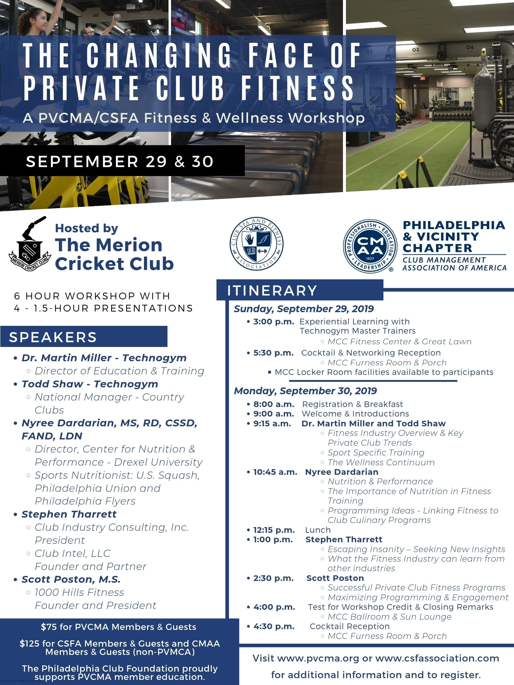 Philadelphia & Vicinity Club Management Association